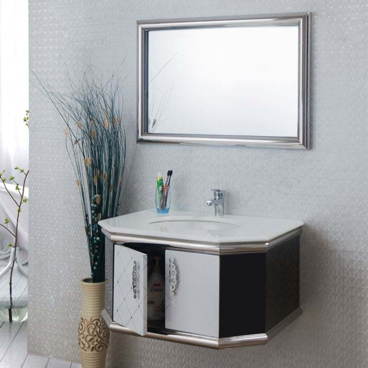 Hot Cabinet Wc Washing With Mirror Cabinet