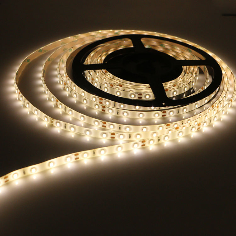 Christmas gift DC12V Flexible 2835 led strip adhesive waterproof 5m fob led strip light