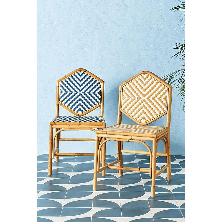 Hot Selling Handwoven Braid Single Dining Chair