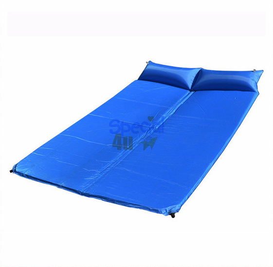 YKWW-107 Ultralight King Size <span class=keywords><strong>Autogonfiante</strong></span> Campeggio Trekking Outdoor Materasso Sleeping Pad per i Viaggi