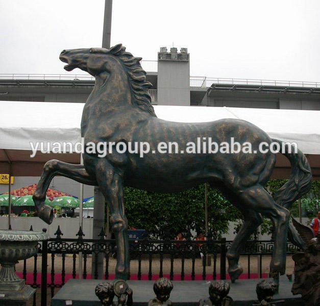 Fuente tallada decoración jardín gran escultura de bronce al aire libre