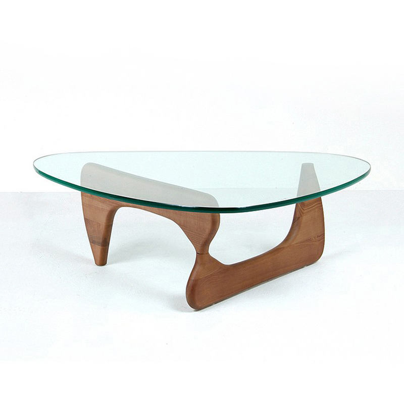 Furniture Tempered Glass Coffee Table Modern Side Table Tea Table