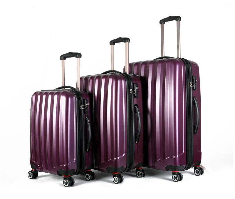3pcs a set shanghai china trolley bags for easy trip