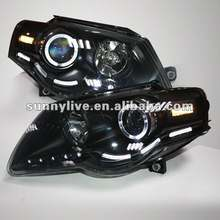 For VW Magotan LED Head Lamp Angel Eyes 2007 - 2010 V1 Type