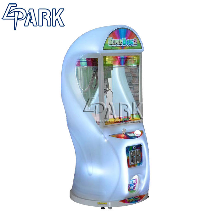 Indoor games shop kids play claw game super box 2 crane vending machine for sale