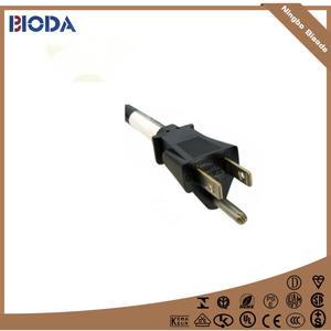 Siêu chất lượng lớn về vật chất UL phê duyệt 3 pins ac power cord