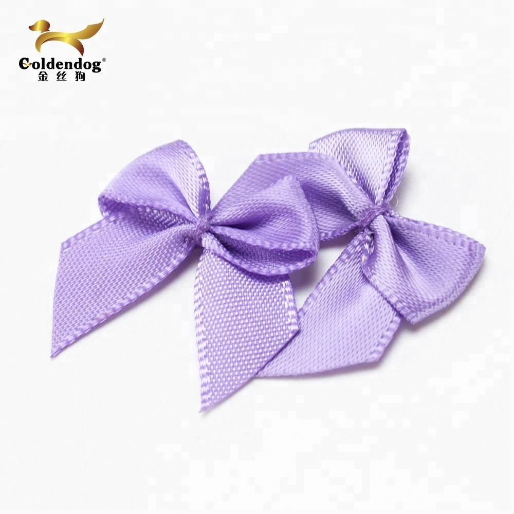 wholesale satin ribbon handmade mini underwear bows