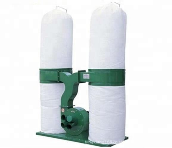 380V 3KW Woodworking Double Bags Wood Dust Collector