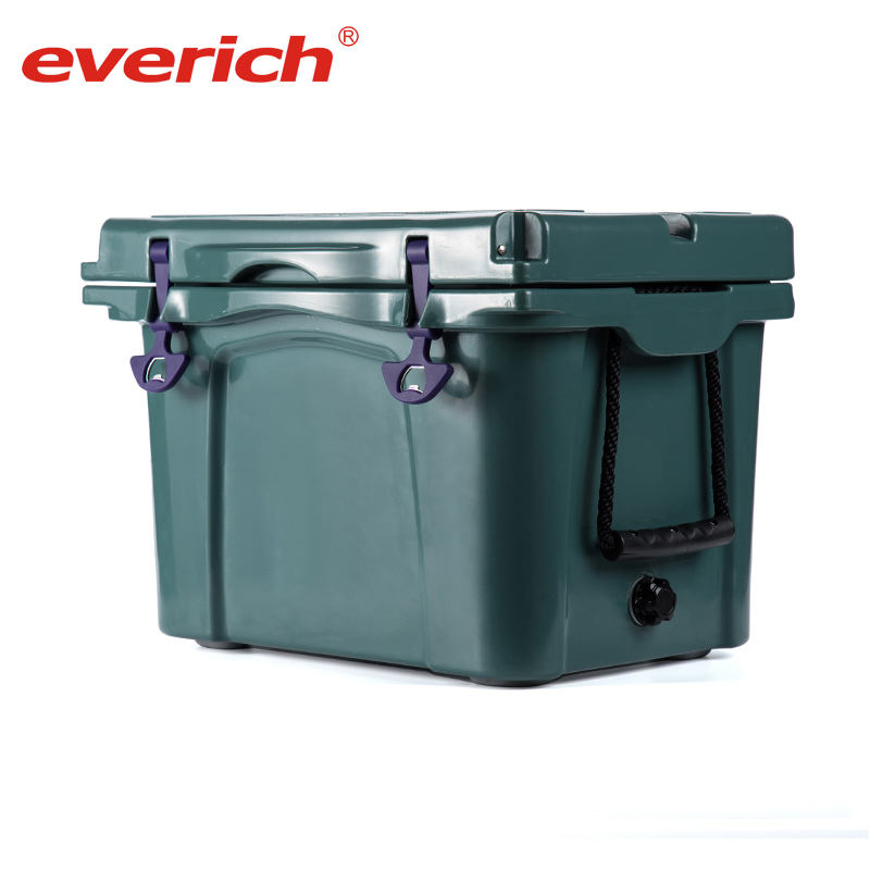 Portable food cooler box table/outdoor ice cooler box