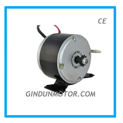 350W 24V Brush Dc motor for scooters model ZY1016