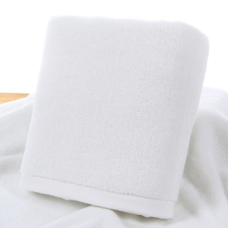 High Quality 5 Star Luxury Hotel Used 100%Cotton White Face Towel, 35*35cm