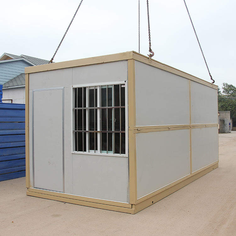 Ready Made 40 Ft Lager Container Made In China Easy Install Prefab Folding Container House