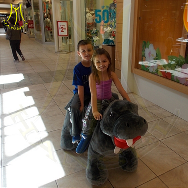 Hansel kids ride on pony toy for mall coin animal kiddy rides horse