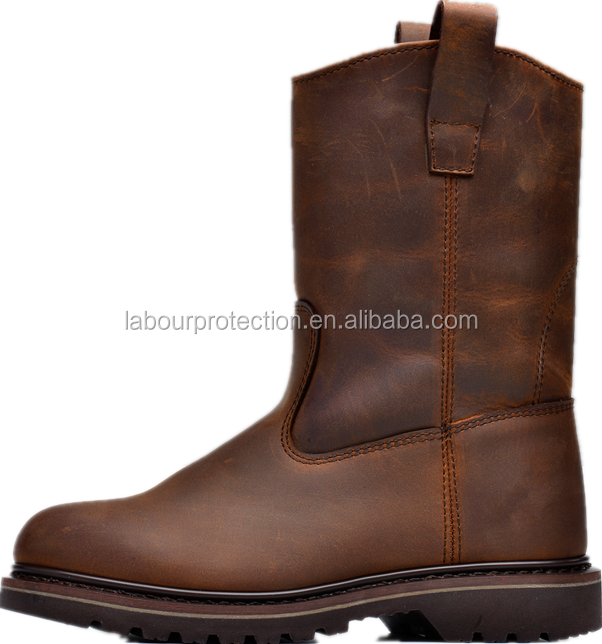 Premium Leather Safety Toe Work Boots