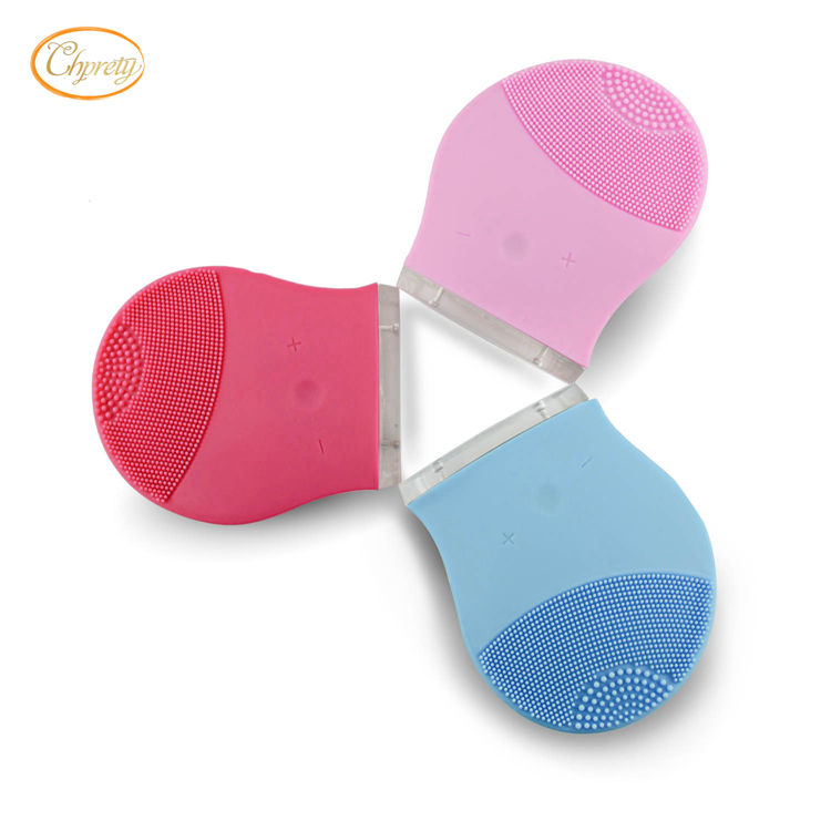 2020 Waterproof Ultrasonic Facial Cleaner Electric Face Cleansing Brush Sonic Massage Skin Care Spa Beauty Cleaning Device