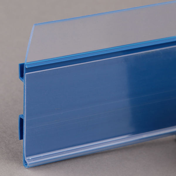 Supermarket Plastic Shelf Stopper with Price Tags
