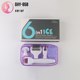 Newest Multifunction derma roller 6 in 1 ice roller kit titanium