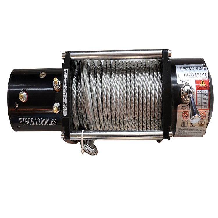 3000lbs 12V electric fast speed electric winch