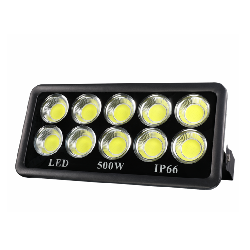 IP66 La watt super brillante de larga distancia COB 100W 200W 300W 400W Luz de inundación led 500w