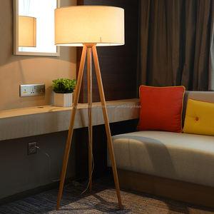 Neue Hotel stativ-stehlampe mit Klaren Kabel Fußschalter und E27 lampenfassung