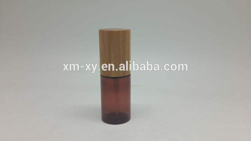 мелкая пластика сжать бутылки с бамбука крышка