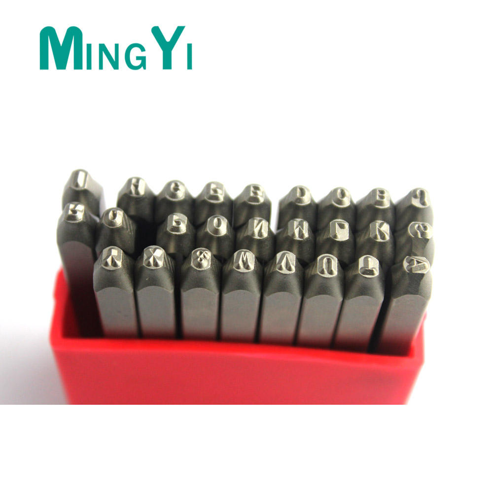 Steel Stamping letter & number Punches Sets made in China, HSS number punch for die casting, letter &number punch for press tool