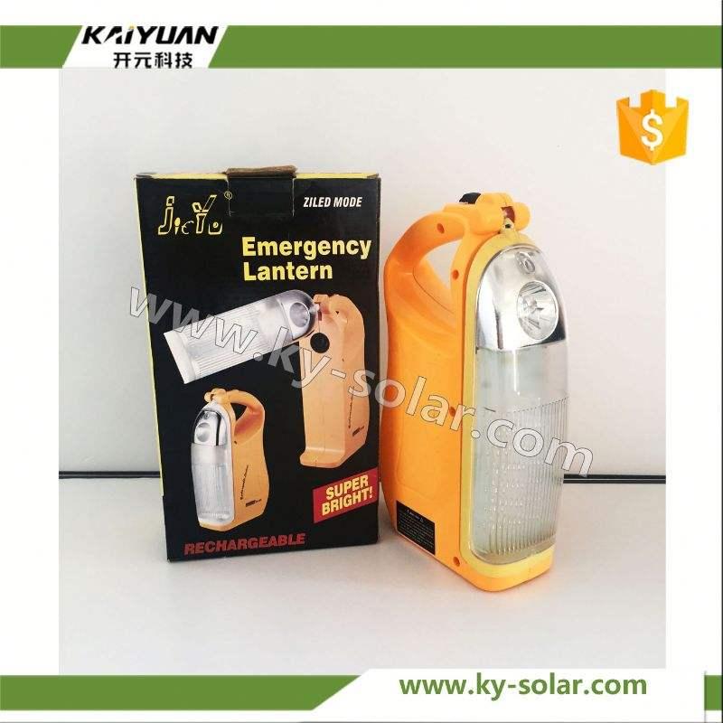 Nuevo <span class=keywords><strong>estilo</strong></span> de iluminación para el hogar amarillo solar luz de emergencia con batería de litio