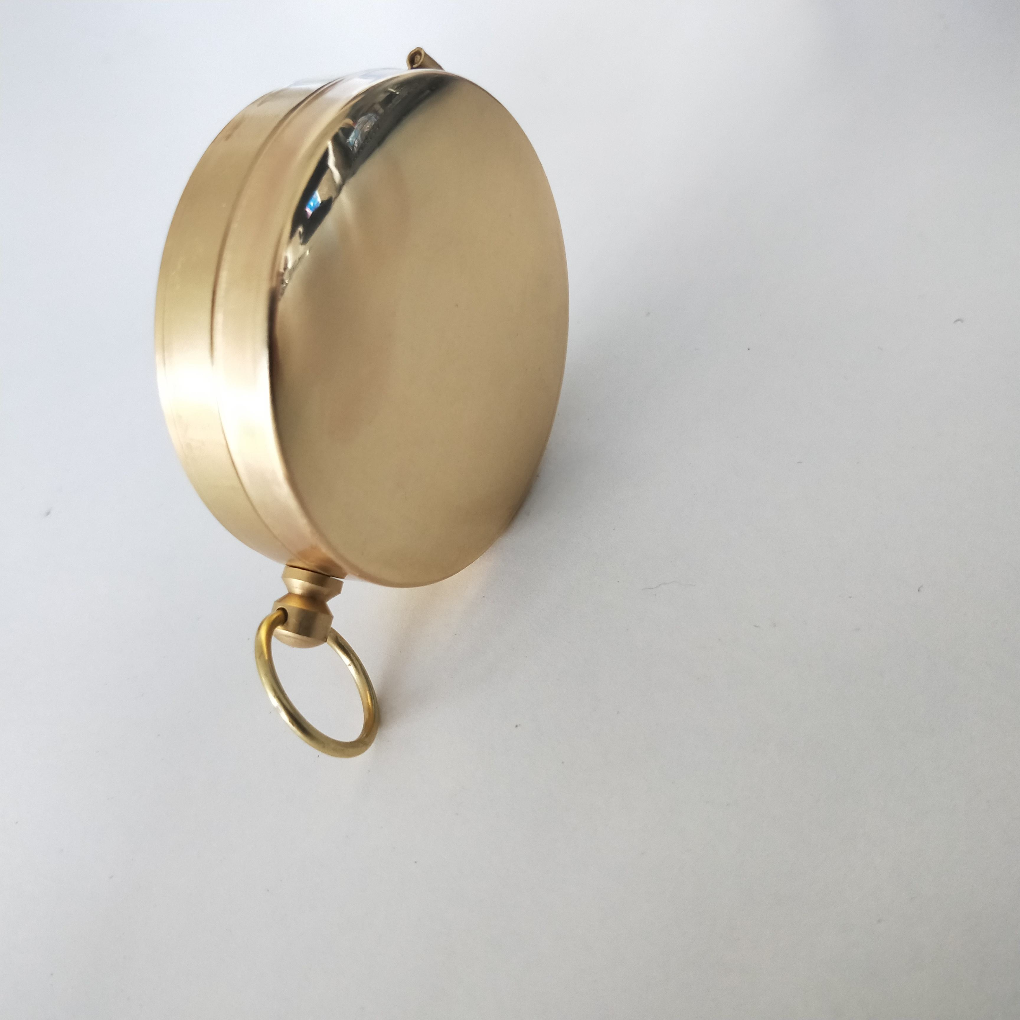 Wholesale bright gold color compass