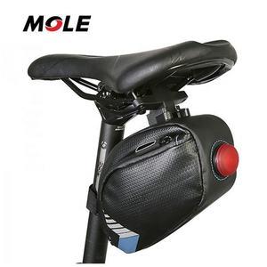 Mole Waterproof Bicycle Y-Series Strap-On Bike Saddle Bag Bicycle Seat Pack Bag
