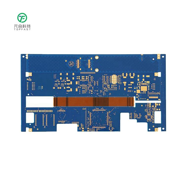 Custom Oem Electronic Suppliers Blue Solder Pcb circuit board