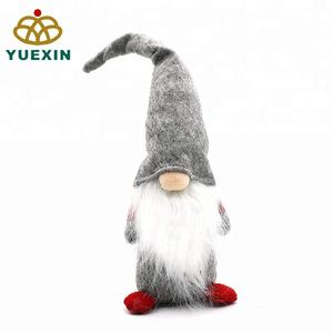 Swedish Scandinavian Nordic Gonks Gnomes Santa Claus Christmas Decor Gift Items Decorative 16Inch Standing Gnome In Felt