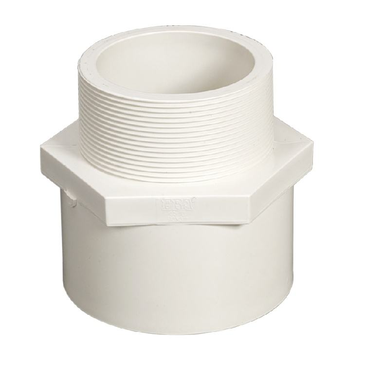 Male Adapter Threaded PVC Pipe Fitting plastic company cpvc male adaptor