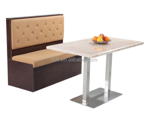 Modernes Design 2 sitzer restaurant booth seating (FOH-CBCK03)