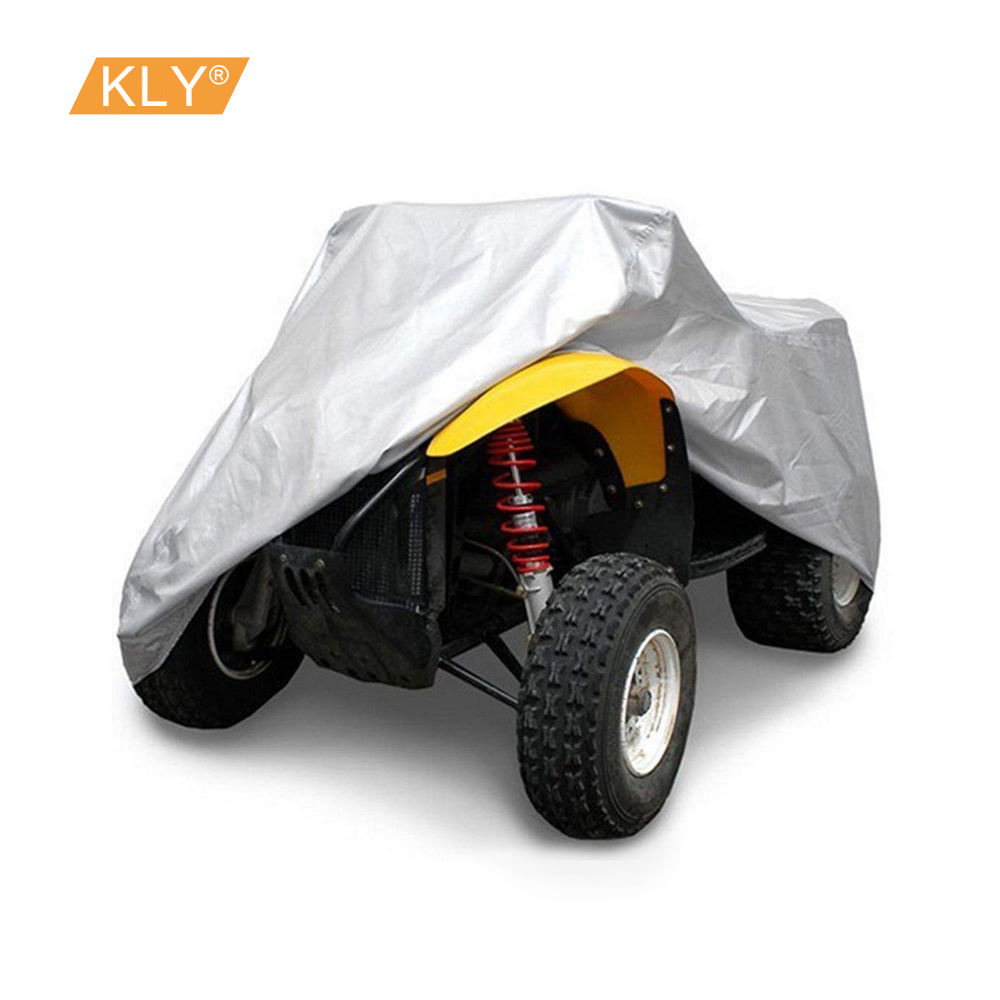GES ATV Cover Outdoor Protection XXL Universal ATV Quad Bike Cover Heavy-Duty Anti-UV Impermeable