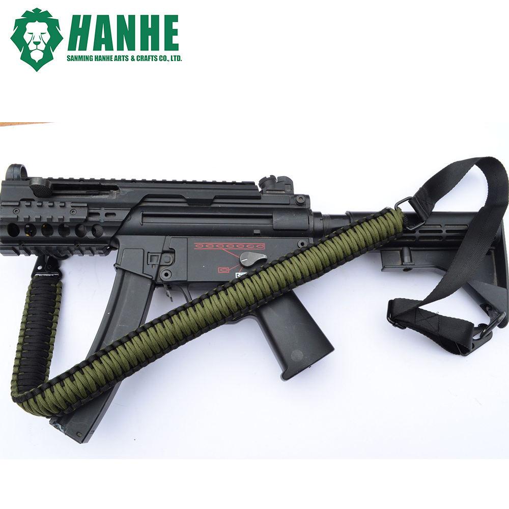 Custom Paracord 550 2 fucile pistola Sling Point CACCIA TIRO SWIVELS