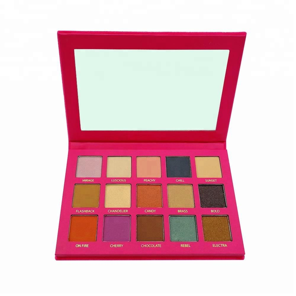 In stock 15 colors Purely pressed pearls eyeshadow