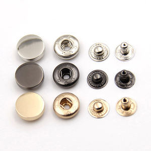 Custom Brass Leather Fashion Bag Clothing Snap Fastener Metal Snap Button