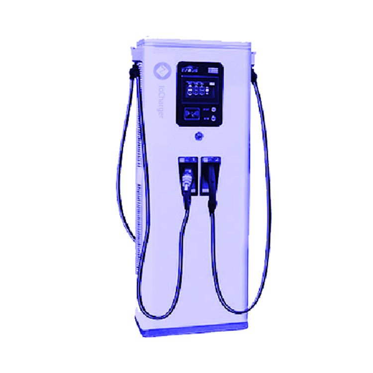 Manufacturers wholesale Iochager 120kw ev car charger with chademo ccs ocpp