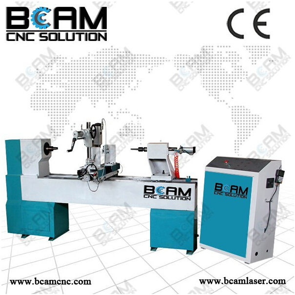 Best price in china hot sale cnc wood lathe automatic cnc wood lathe BCM15030