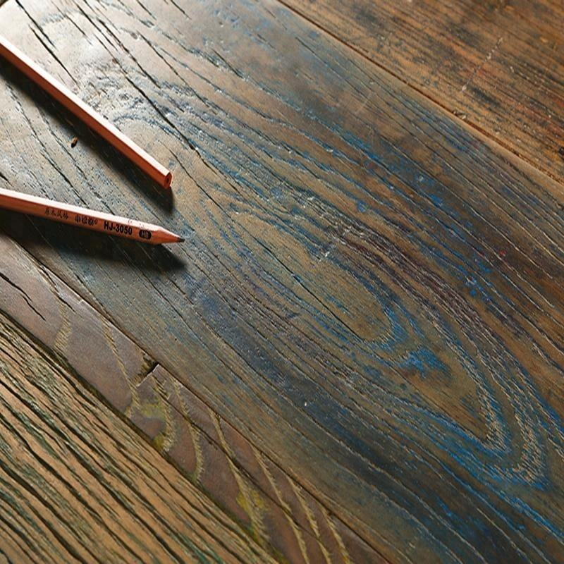 100% Natural Real Reclaimed Engineered Wood Flooring For Villa