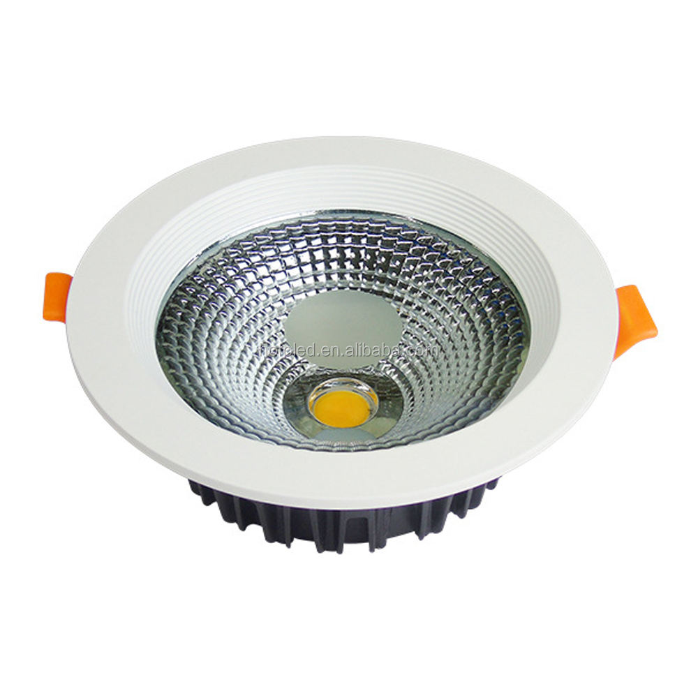 Lifud driver 8 inch 30W COB recessed led downlight
