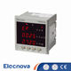 Multimeter [ Digital Multimeter ] Digital Multimeter Price Elecnova PD194E-9S4 96*96mm LED Display Panel 3 Phase AC Digital Multimeter