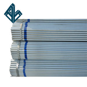 Q235 ASTM A53 ERW Welded SCH 제 40 2 inch Zn coating Galvanized Round Steel Pipe 관 대 한 Building