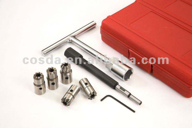 DIESEL Injector Seat Cutter Set (7 Pcs)