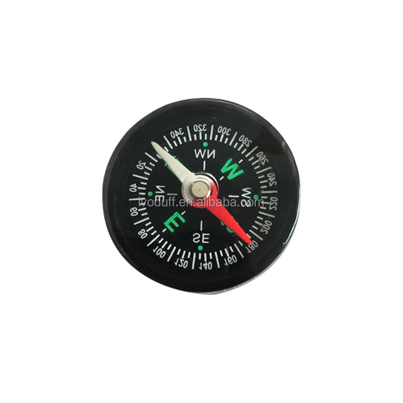 Ivoduff plastic compass Hot sell mini plastic compass for outdoor sports  pocket compass