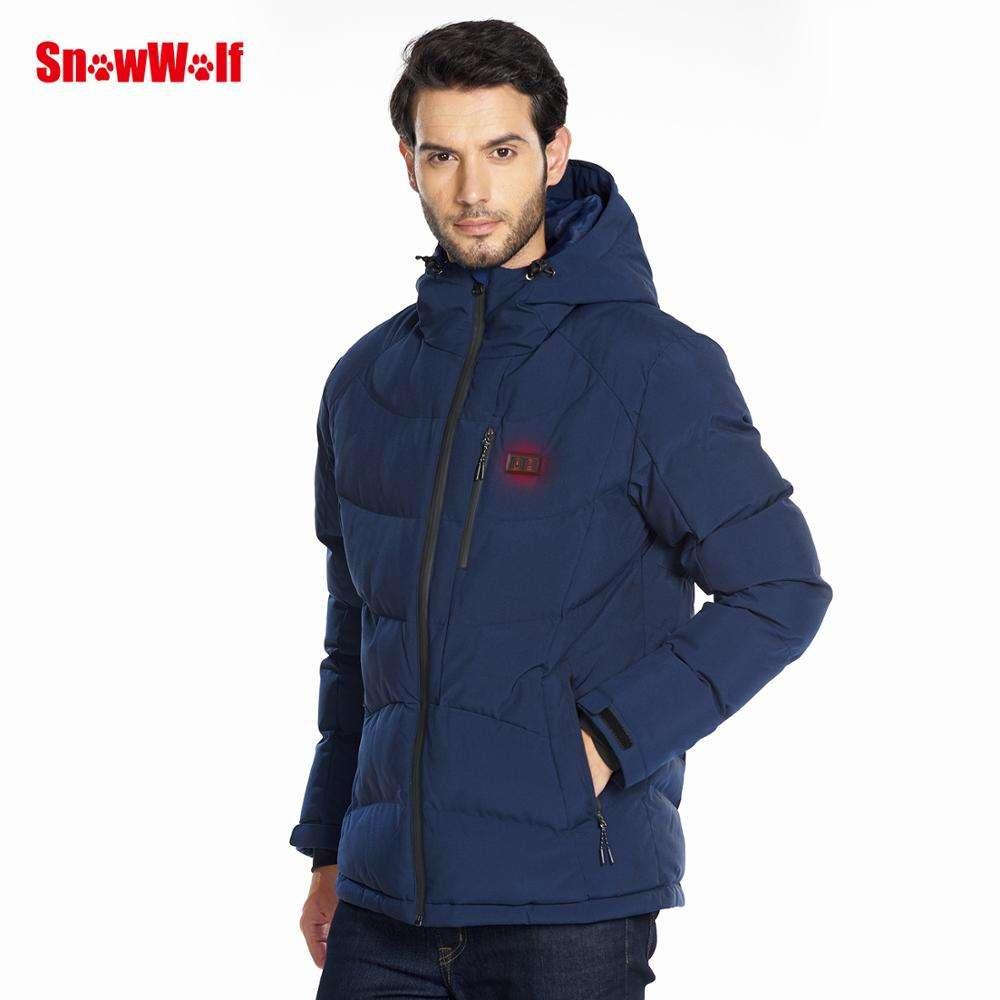 Chinese Manufacturer Supplier Full Length Electric USB Thermal Heated Jacket For Man