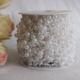White Pearl Wire Garland Pack In Roll,57 Meter