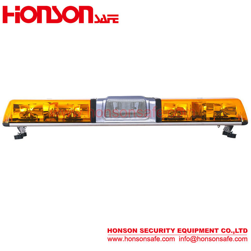 "47""(1200CM) Halogen rotators warning Lightbar with Speaker HS-1522"