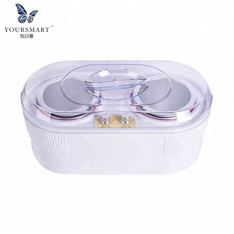 Yorkma ABS material yorkma depilatory wax heater double pot wax warmer