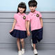 New design cotton kids kindergarten school uniforms